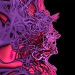 """Neurogravure/Gorgon 20""""x30"""" 2012"""